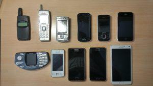 evolucion de los móviles